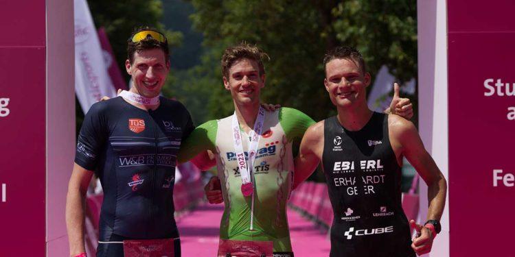 Thomas Steger gewinnt den Apfelland Triathlon 2021