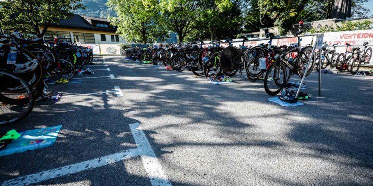 Es ist angerichtet für den Gmunden Triathlon 2021