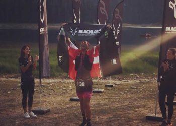 Christian Almer gewinnt den Black Lake Triathlon 2021